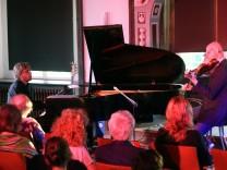 Jazz-Duo im Rittersaal