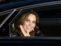 FILE PHOTO: Britain's Prince William and his wife Catherine, Duchess of Cambridge visit Berlin
