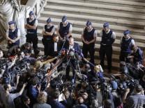 Prozess gegen IS-Terroristen in Brüssel