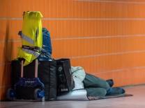 Menschen ohne festen Wohnsitz