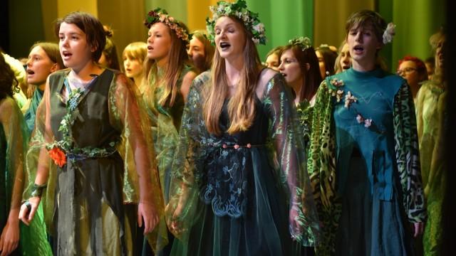Kultur in München Theateraufführung