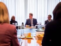 Sitzung des Kabinetts