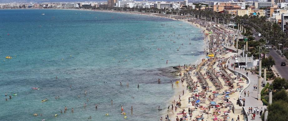Party Tourists Flock To Mallorca's Ballermann Strip