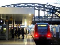 S-Bahn an der Hackerbrücke in München, 2017