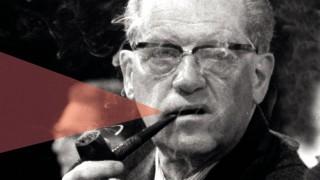 Herbert Wehner SPD mit Pfeife aufgenommen auf dem SPD Parteitag 1971 in Bonn Herbert Werner Por