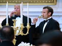 Französischer Präsident zu Besuch in den USA