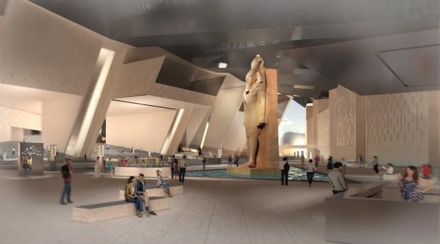 Pressematerial zum neuen Grand Egyptian-Museum, Kairo