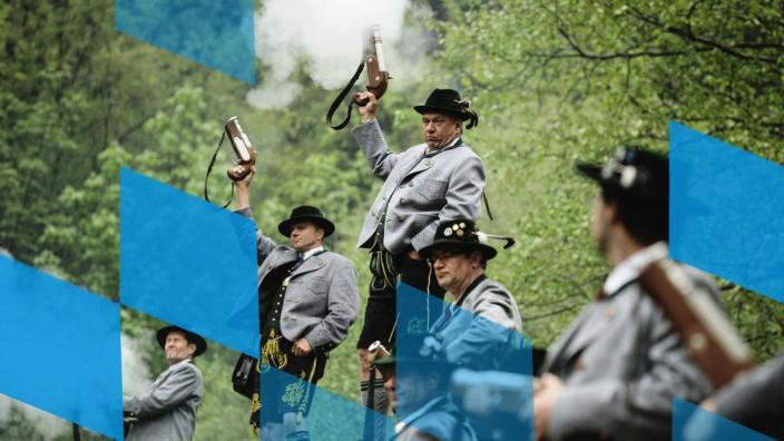 Pilgrims Celebrate Ascension At Birkenstein