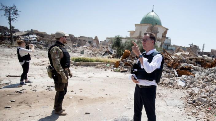 Entwicklungsminister Müller im Irak