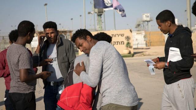 Israel lässt afrikanische Asylsuchende frei