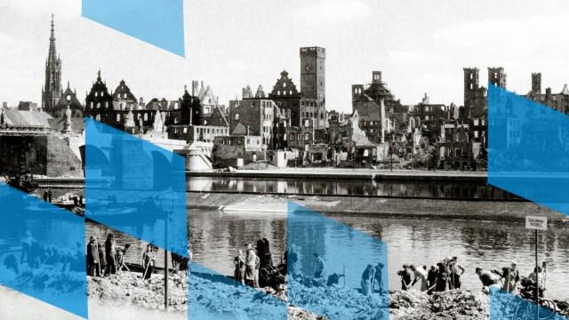 Erinnerung an Bombardierung von W¸rzburg