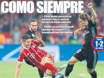 Mundo Deportivo Titelseite
