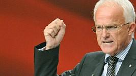 Jürgen Rüttgers CDU Videoüberwachung Kraft NRW dpa
