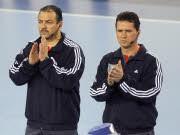 Frank Lemme und Bernd Ullrich aus Magdeburg schiedsrichter Handball