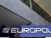 Der Europol-Hauptsitz im niederländischen Den Haag.
