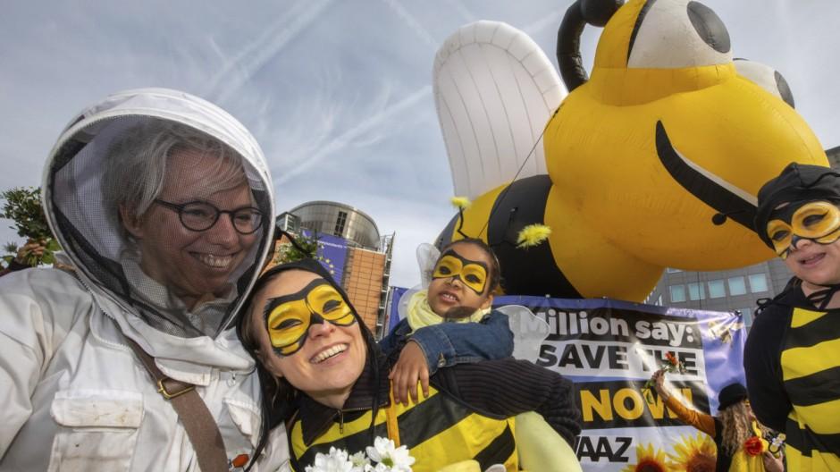 Bauern und Chemiebranche kritisieren Verbot bienenschädlicher Pestizide