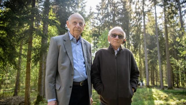Vorbesichtigung in der KZ-Gedenkstätte bei Waldkraiburg