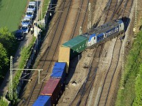 Güterzug in München entgleist