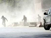 Afghanistan: Bei Anschlägen in der Hauptstadt Kabul sind mindestens 25 menschen ums Leben gekommen.