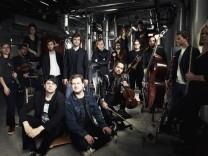 Das VKKO mit ihren Namensgebern, Gründern und Hauskomponisten Christopher Verworner und Claas Krause.