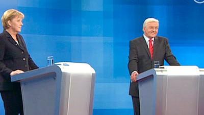 Bundestagswahl Merkel vs. Steinmeier