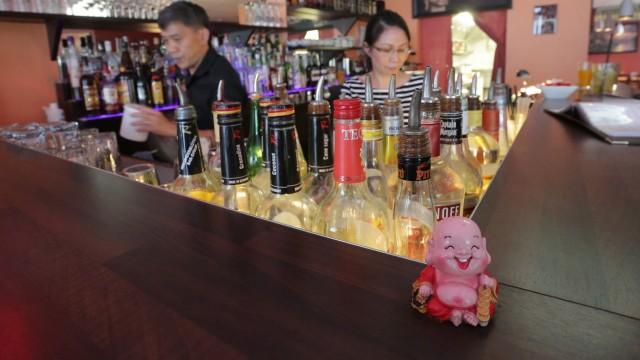 Gute Cocktails und gutes asiatisches Essen bekommt man in Freising im Hop Sing