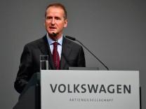 Der neue VW-Chef Herbert Diess hat mehr Macht als sein Vorgänger Müller.