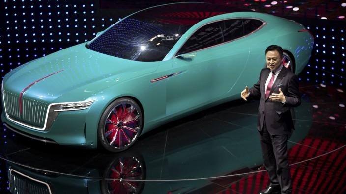 Hongqi E-Jing GT Automesse Peking