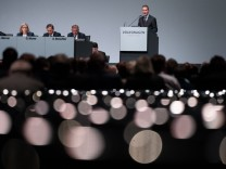 Volkswagen - Hauptversammlung