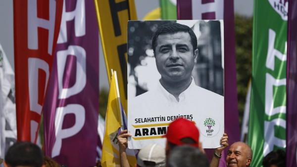 Selahattin Demirtas HDP Türkei Wahlen