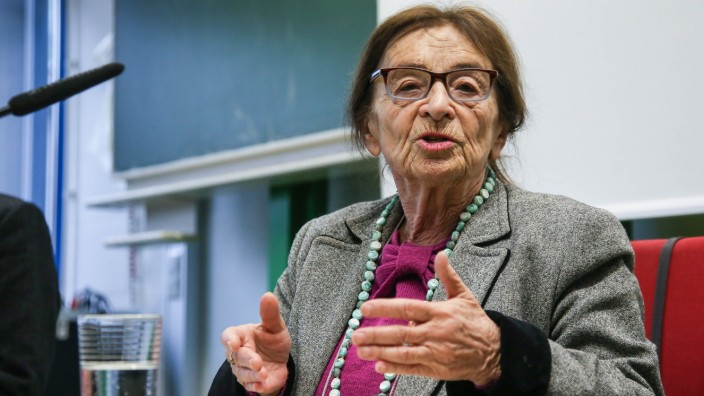 Agnes Heller in Dachau, 2017
