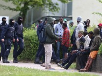 Police Intervene In Ellwangen Refugee Center Following Confrontation