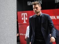 Ankunft Bayern München