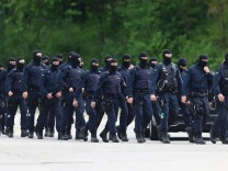Police Intervene In Ellwangen Refugee Center Following Confrontation