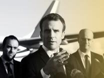 Emmanuel Macron Arrives At La Tontouta Airport - Nouvelle-Caledonie