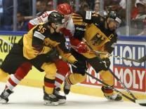 Eishockey: WM, Deutschland - Dänemark