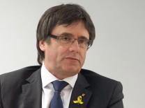 Puigdemont berät sich mit Parteimitgliedern in Berlin