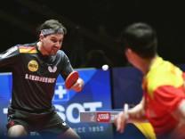 Tischtennis-WM: Deutschland - China