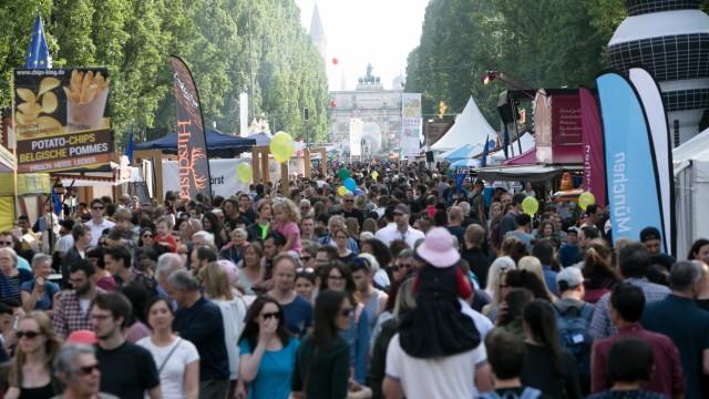 Streetlife Festival, corso leopold, Leopoldstraße