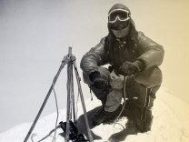 Messner 1978 auf dem Everest