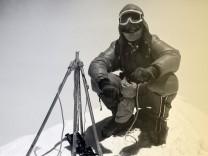 Messner 1978 auf dem Everest