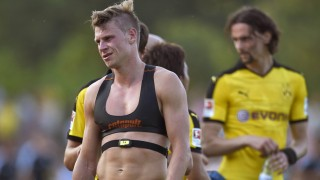 03 07 2015 1 Fussball Bundesliga 2015 2016 Testspiel VfL Rhede Borussia Dortmund im BESAGROUP
