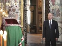 Amtseinführung von Russlands Präsident Putin
