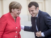 Französischer Präsident Emmanuel Macron