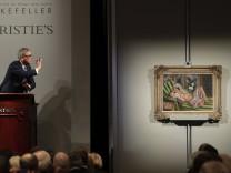 """Das Bild """"Odaliske mit Magnolien"""" von Henri Matisse aus dem Rockefeller-Nachlass wird 2018 bei einer Auktion des Hauses """"Christie's"""" versteigert."""