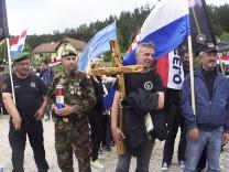 Croatia Surging Right