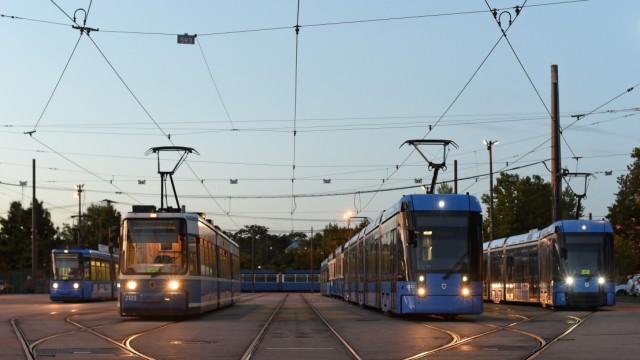 Tramfahren in München wird komplexer. Schuld sind vor allem Baustellen.