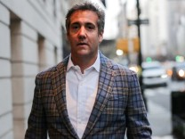 FILE PHOTO: U.S. President Donald Trump's personal lawyer Michael Cohen exits a hotel in New York City