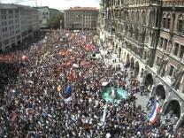 Marienplatz Demo