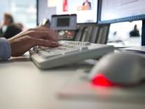 Arbeitsplatz mit Computer